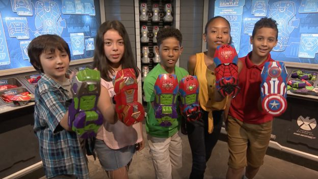 Buy Your Own Custom Built Super Hero Gauntlet at Super Hero Headquarters in Disney Springs 13