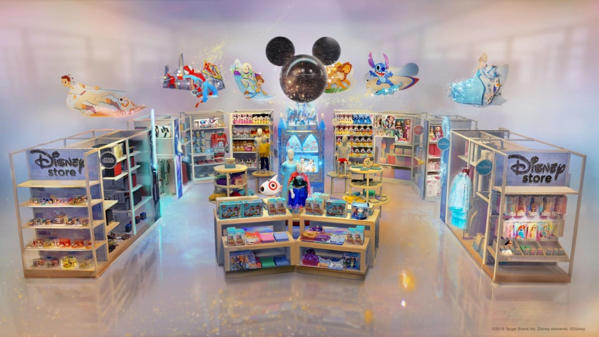 Disney's New Target Stores Open Today 1