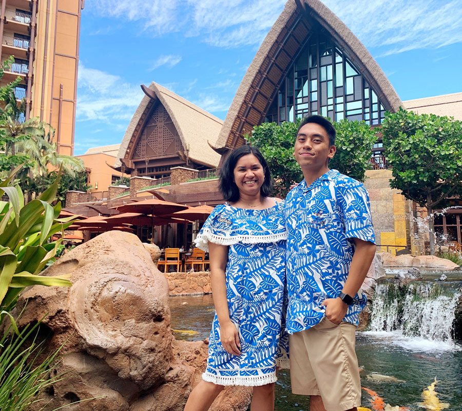 Apparel from the new Aulani Resort Collection
