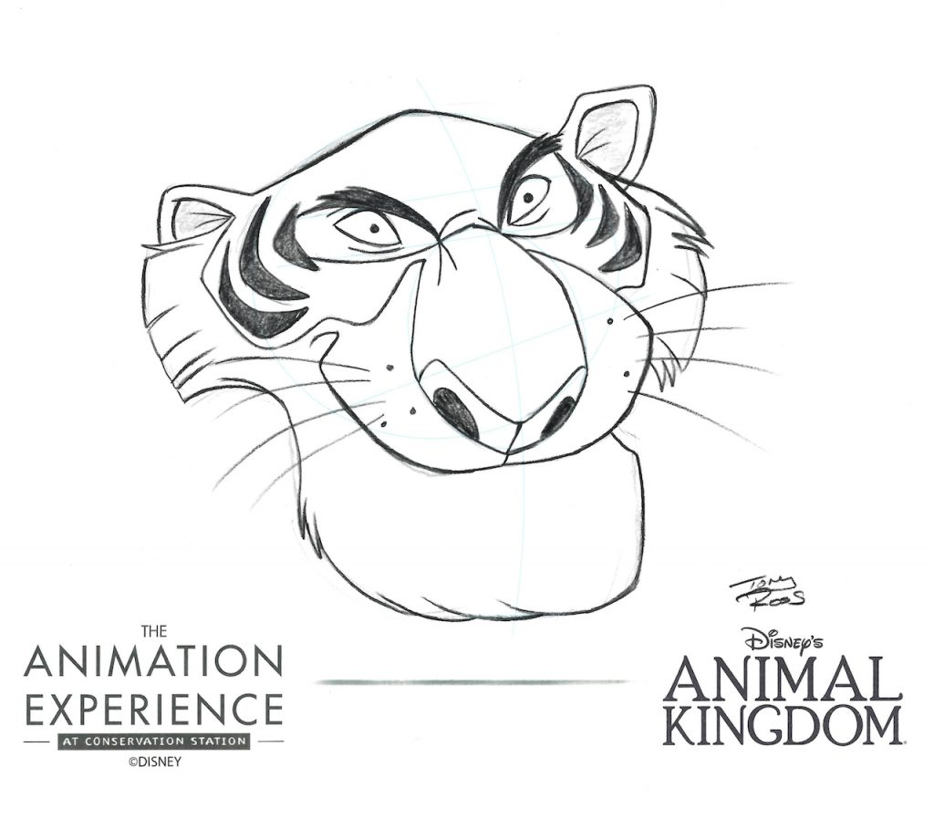 The Animation Experience at Conservation Station Now Features Animal 'Villain' Drawing Tutorials 12
