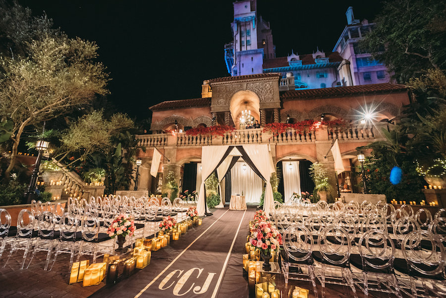 Disney Fairytale Wedding at Tower of Terror