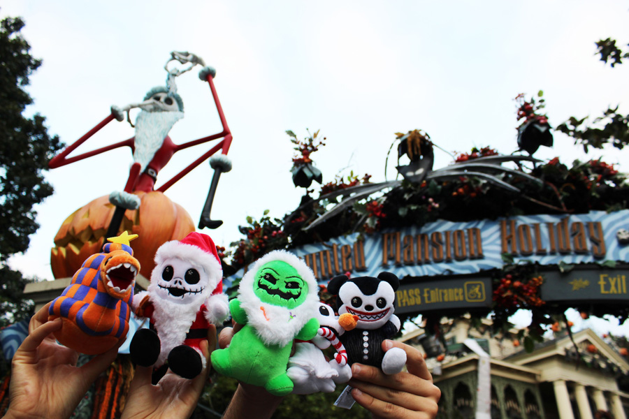 Oogie Boogie's Frightfully Festive in Newest Disney Parks Wishables Collection – Available Now 1