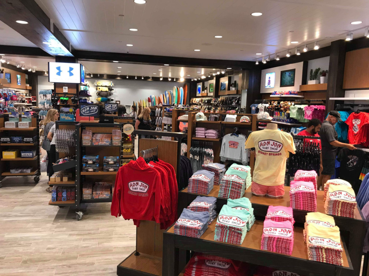 Photos of the New Ron Jon Surf Shop at Disney Springs 8