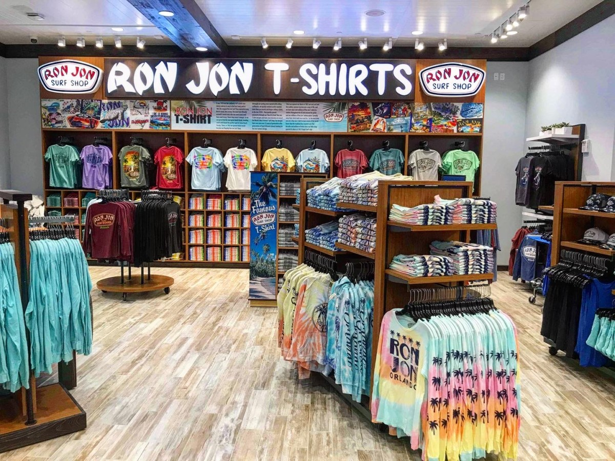 Photos of the New Ron Jon Surf Shop at Disney Springs 11