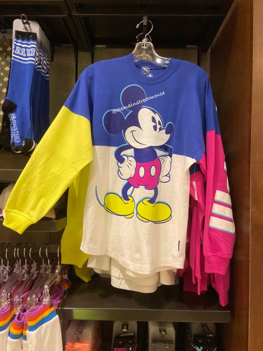 Colorful New Mickey and Minnie Spirit Jerseys! #disneystyle 4