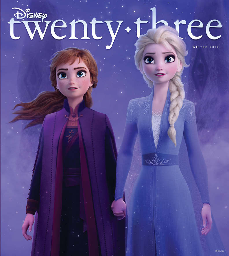 VENTURE INTO THE UNKNOWN WITH THE DISNEY TWENTY-THREE-EXCLUSIVE COVER OF FROZEN 2 3