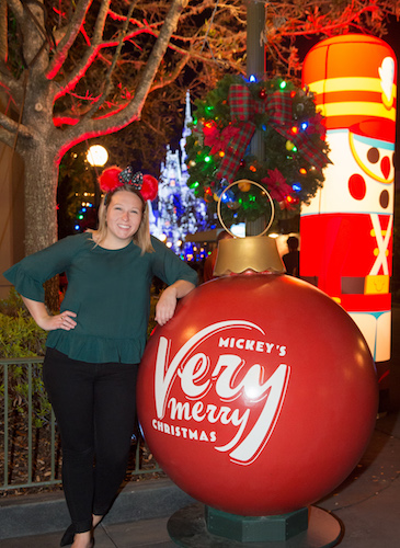 Capturing Memories During Mickey's Very Merry Christmas Party 12
