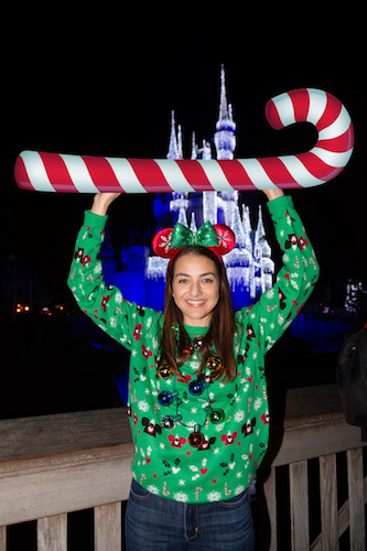 Capturing Memories During Mickey's Very Merry Christmas Party 13