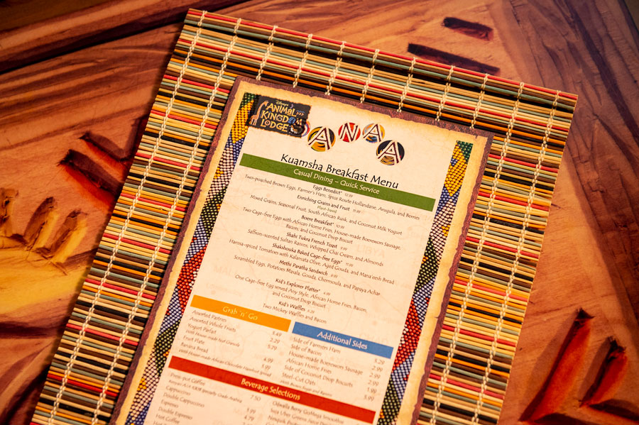 Enjoy a Hearty African Breakfast at Sanaa at Disney's Animal Kingdom Lodge 5