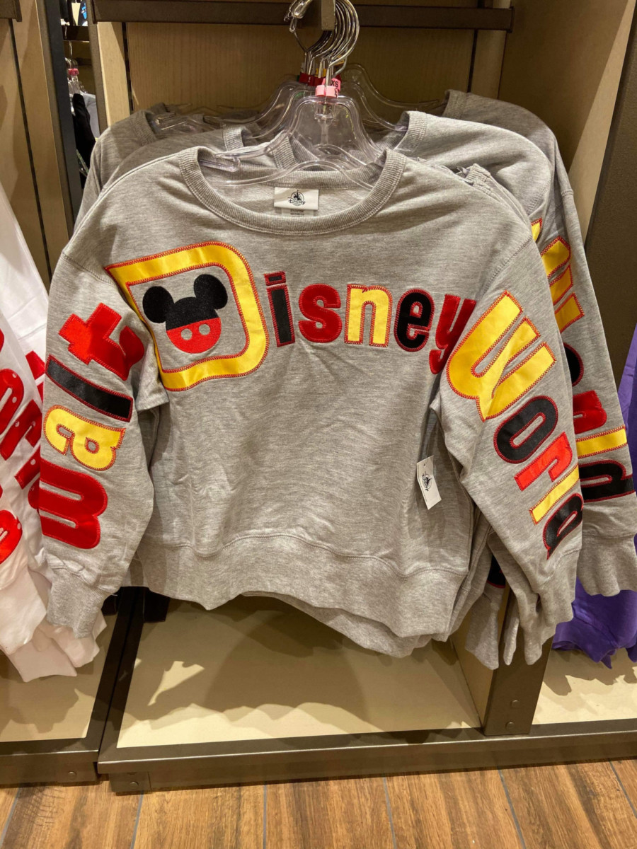 NEW Walt Disney World Sweatshirts at Disney Springs! 4