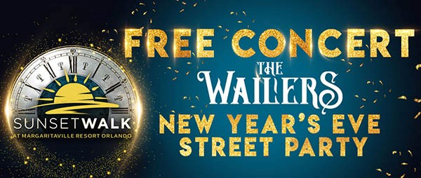 New Year's Eve FREE CONCERT Starring The Wailers + Street party and Fireworks Show #OffTMSM 9