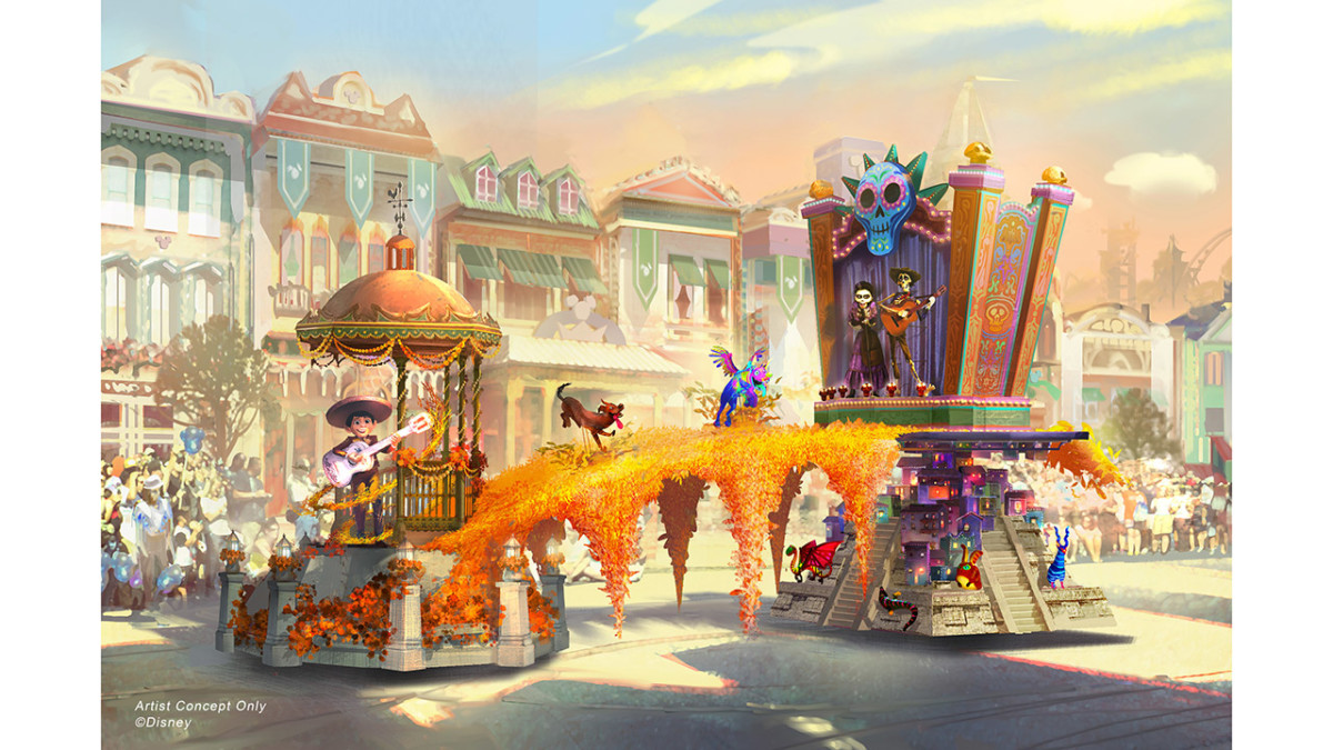 Behind the Scenes: Designing 'Magic Happens' Parade Floats, Debuting Feb. 28 at Disneyland Park 3