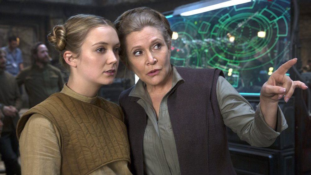 Carrie Fisher's daughter Billie Lourd briefly played young Leia in The Rise of Skywalker 5