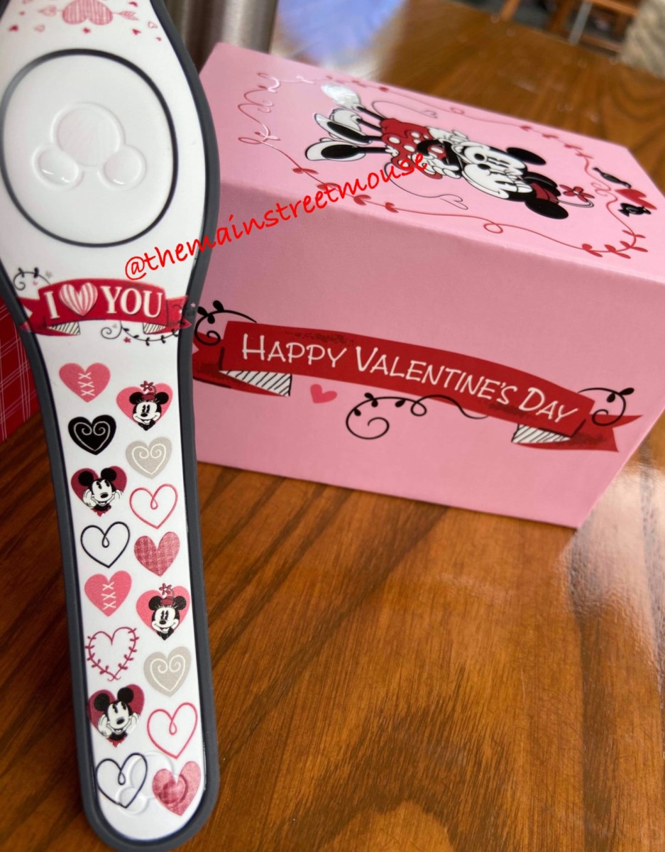 Mickey Loves Minnie Valentine MagicBands! 1