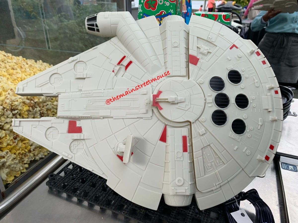 New Millennium Falcon Popcorn Bucket at Disney Springs 3