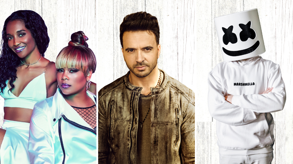 Marshmello, Luis Fonsi, TLC And More To Perform Live At Universal Orlando Resort's 2020 Mardi Gras Celebration 2