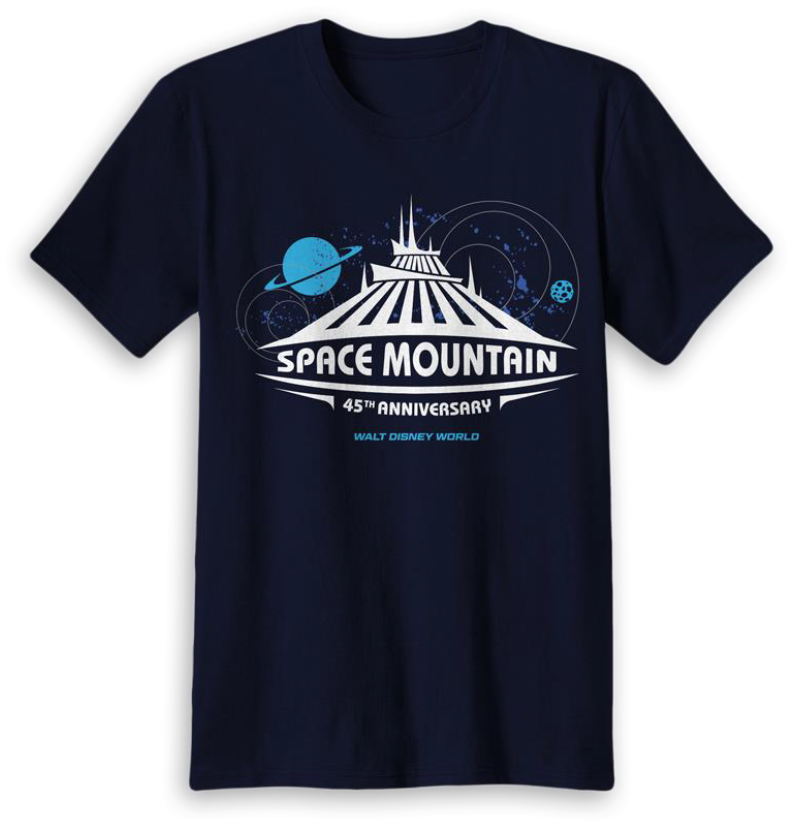 Space Mountain 45th anniversary T-shirt