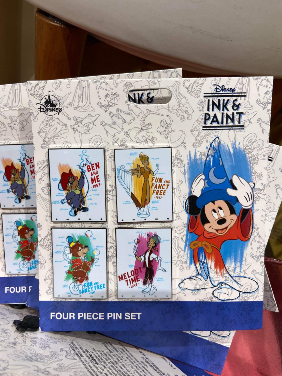 New Ink & Paint Line at Disney Parks 5