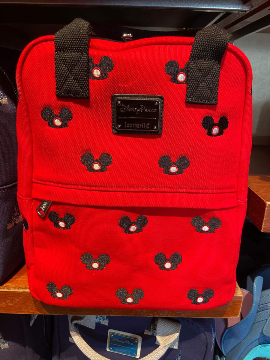 New Canvas Loungefly Backpacks At Disney Parks