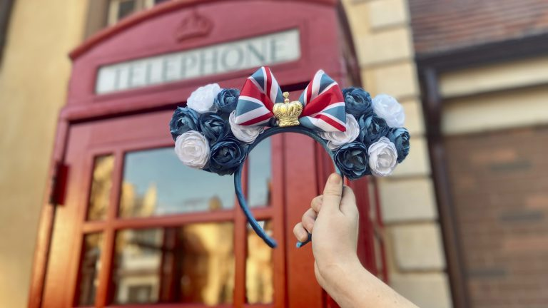 First Look: New United Kingdom-Inspired Minnie Headband Now Available at Epcot 6