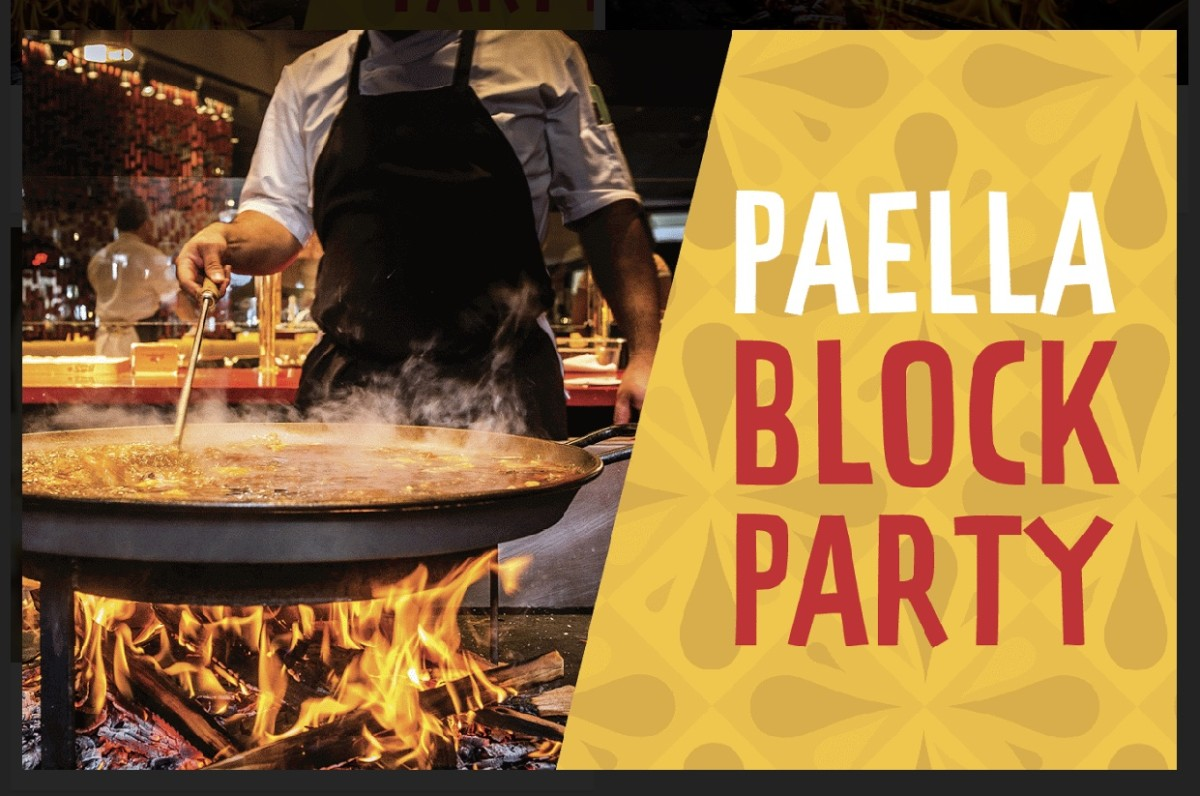 Paella Block Party at Disney Springs! 10