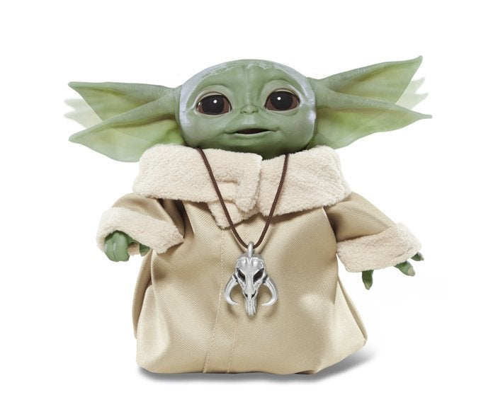 Baby Yoda Animatronic Edition Toy Figure Launches Today 1