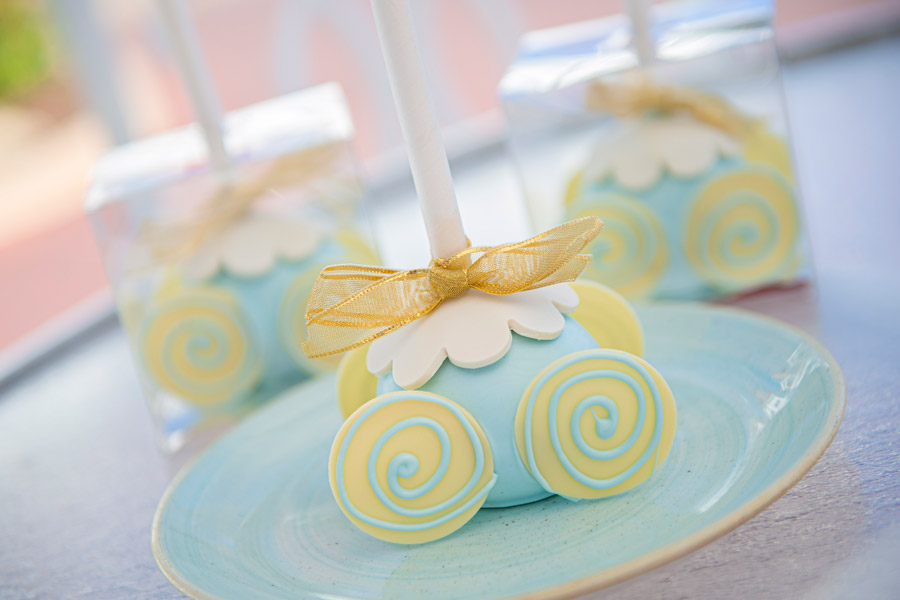 Cinderella's Cake Pop Coach from Gasparilla Island Grill at Disney's Grand Floridian Resort