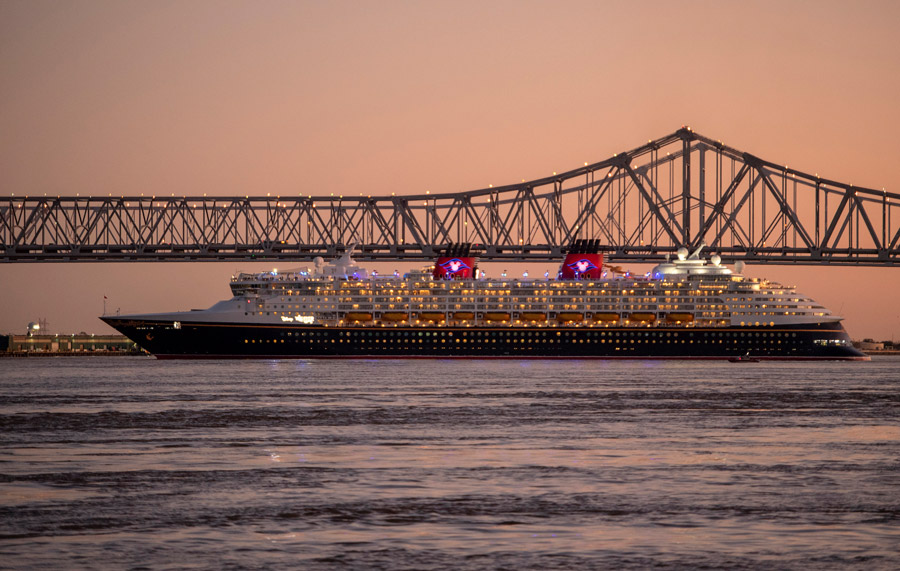 Disney Wonder Sets Sail on Inaugural Voyage from New Orleans 1