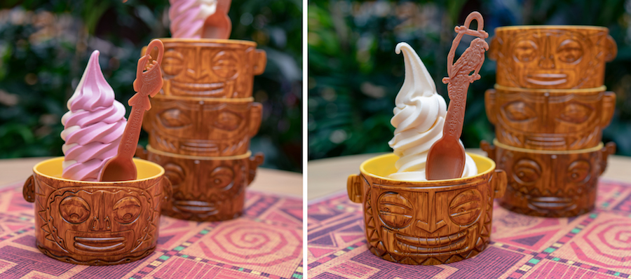 Novelty Tiki Bowls from The Tropical Hideaway at Disneyland Park