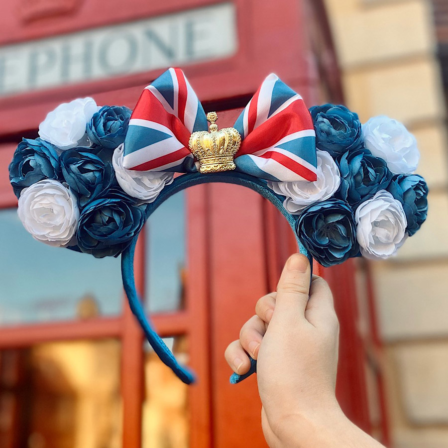 New United Kingdom-Inspired Minnie Ear Headband
