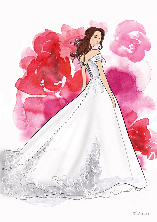 JUST ANNOUNCED: Disney Wedding Dresses Coming in 2020 1