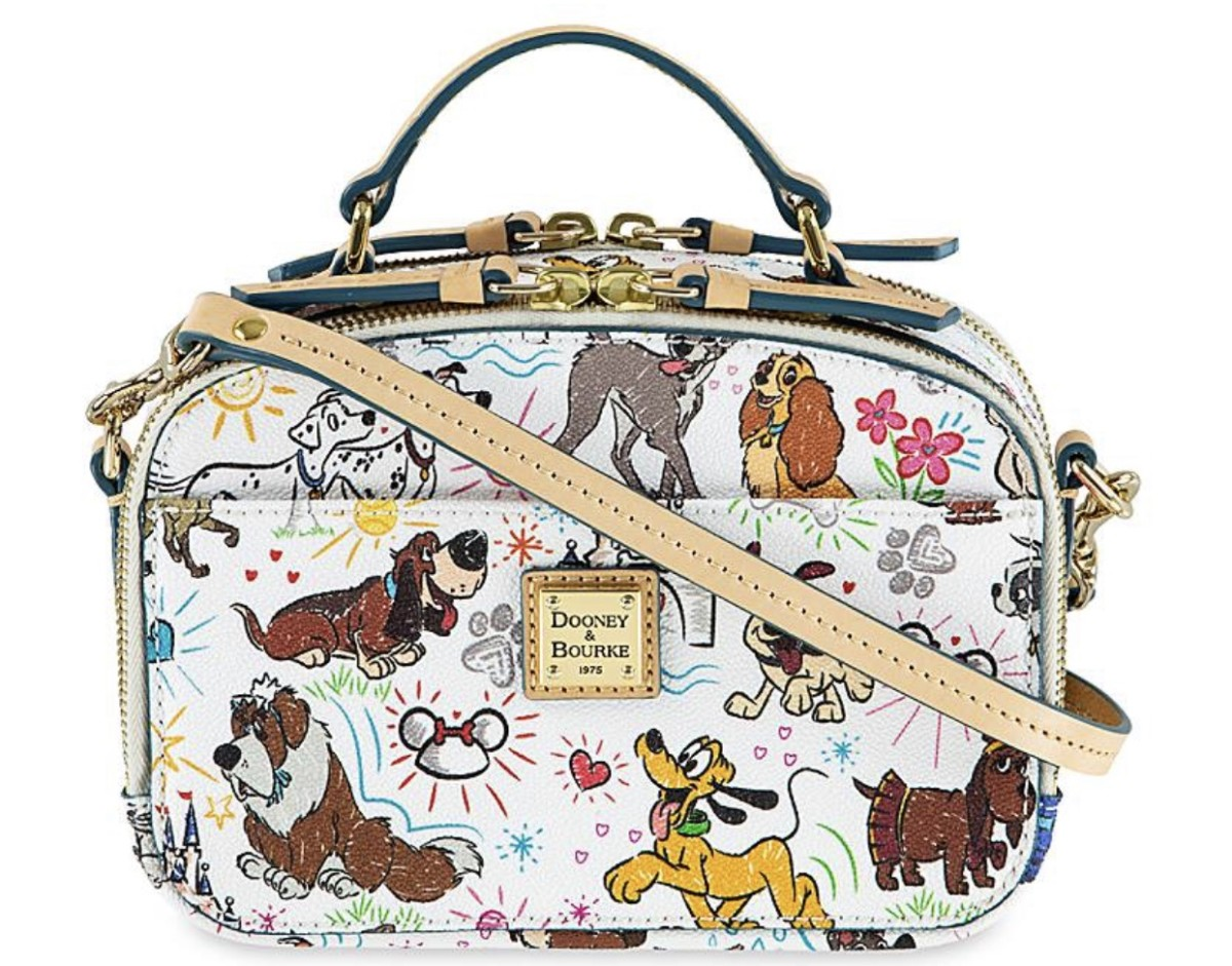 NEW Disney Dogs Sketch Dooney & Bourke bags! 3