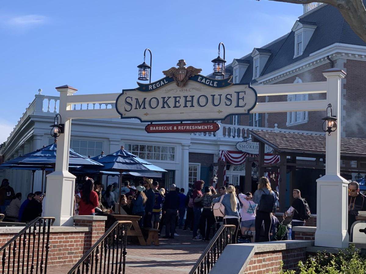 Photos of the New Regal Eagle Smokehouse at Epcot 29