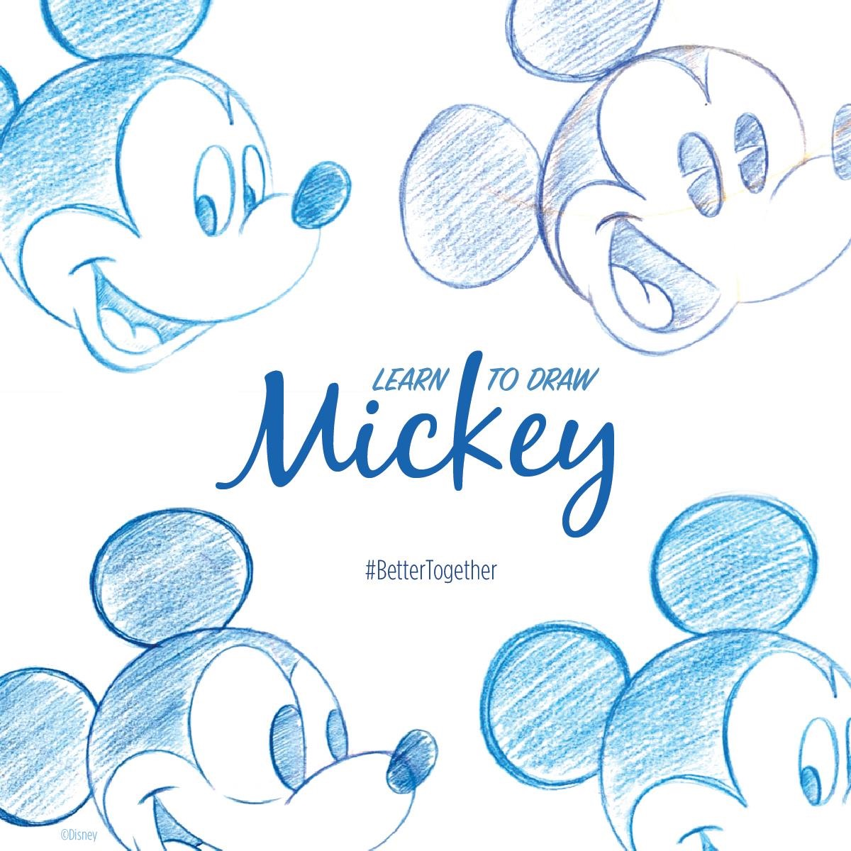 #BetterTogether: Draw Mickey Mouse at Home with a Disney Parks Artist 1