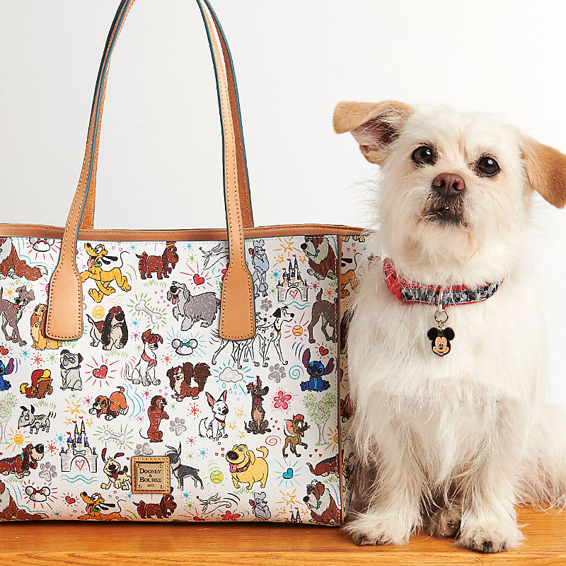 NEW Disney Dogs Sketch Dooney & Bourke bags! 1