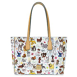 NEW Disney Dogs Sketch Dooney & Bourke bags! 2