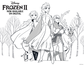 FROZEN 2 - Activity Pages!!! 1