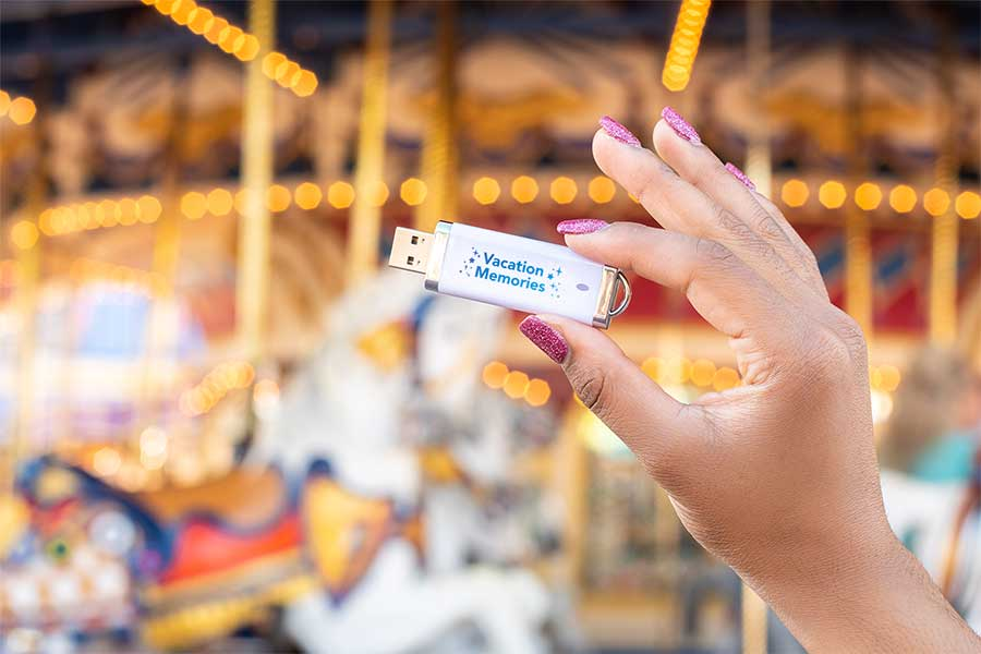 Easily Access, Store All of Your Magical Walt Disney World Resort Memories with the Disney PhotoPass Archive USB 3