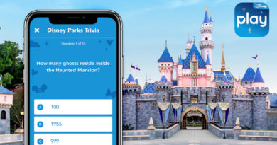 Explore Disney Trivia, Music and More at Home with the Play Disney Parks App 3