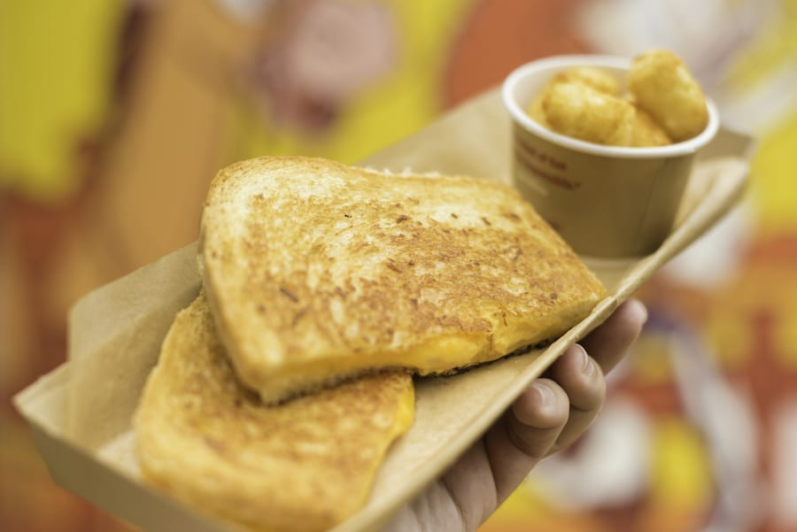 Cooking Up The Magic at Home: Celebrate National Grilled Cheese Day with a Grilled Cheese Sandwich from Toy Story Land 1
