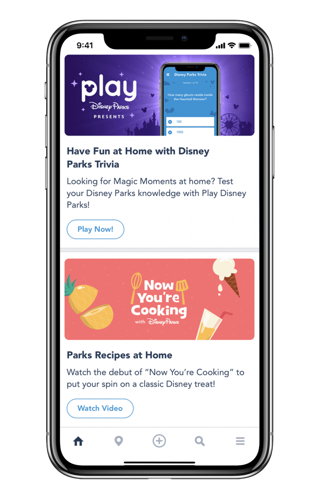 Enjoy Disney Parks Recipes, Jungle Cruise Jokes and More with New Features in the Disneyland and My Disney Experience Mobile Apps 2