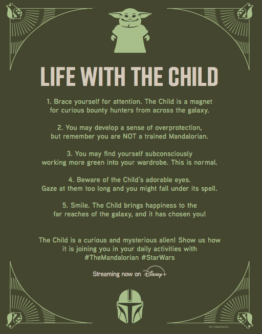 5 Tips for Navigating Life with the Child Ahead of the Premiere of Disney Gallery: The Mandalorian 1