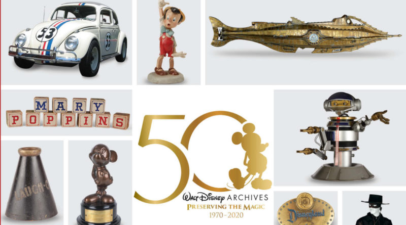 D23 Celebrates 50 Years of the Walt Disney Archives 1