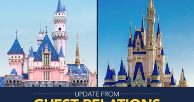 Planning Your Disney Parks Vacation - Update 2
