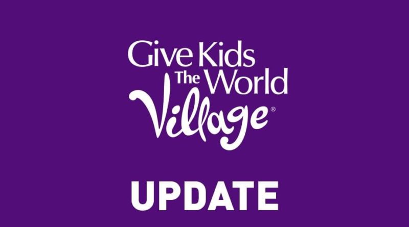 Update from Give Kids the World 2