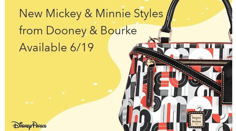 New Mickey & Minnie Styles from Dooney & Bourke Coming Soon! 41