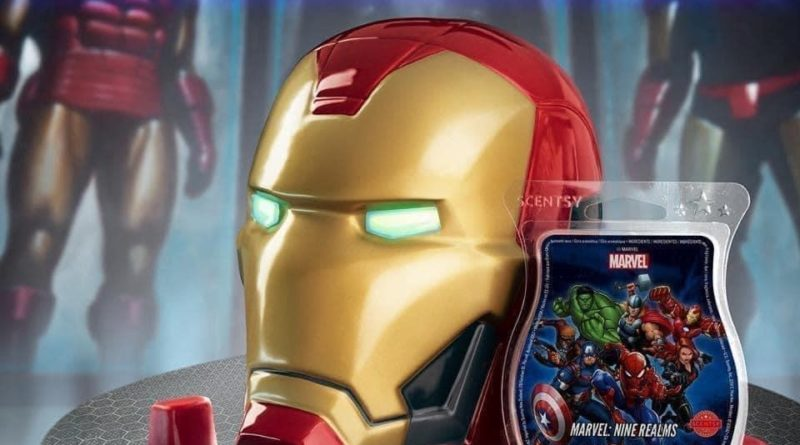 NEW Marvel Goodies from Scentsy! 8