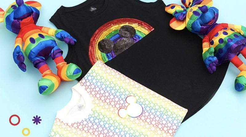 New Rainbow Disney Collection on shopDisney 1