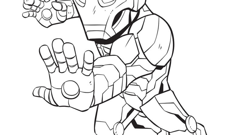 Coloring Fun With Marvel Super Hero Adventures 5