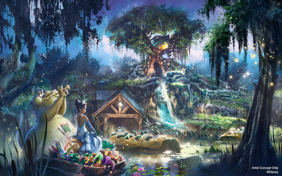 New Adventures with Princess Tiana Coming to Disneyland Park and Magic Kingdom Park 1